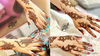 Cute mehndi designs for hand | Mehndi design | Simple mehndi design |