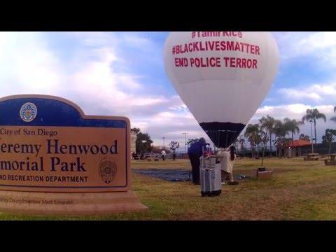 Artful Activist SD -  Hot Air Balloon Timelapse