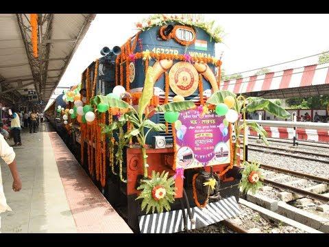 #Manoj sinha#  रेल राज्य मंत्री ने दिया इन्टरसिटी ट्रेन का सौगात, 60 स्टेशन पर वाई-फाई सुविधा