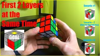 Rubik's Cube Speed Solve | CFOP - F2L | Advanced Method