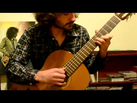 """Gymnopedie No.1"" Erik Satie - solo guitar arrangement by Dave Seck"