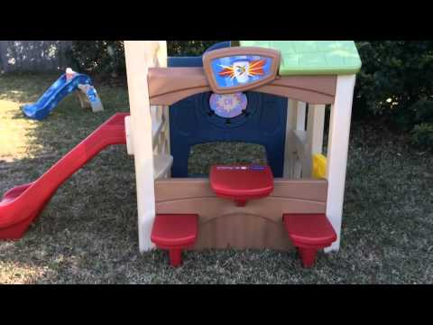 step 2 welcome home playhouse assembly instructions