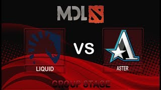 (LIVE DOTA2) Team Liquid  vs Aster BO3 MDL Chengdu Major#Dota2 #DOTA2INDONESIA
