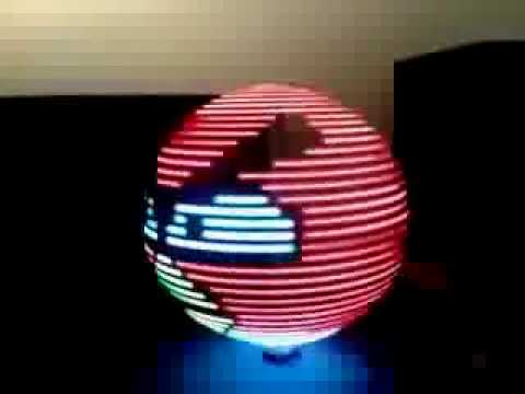 POV Globe Display RGB LEDs