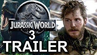 Jurassic World 3: Dominion Teaser Trailer | Bryce Dallas Howard | Chris Pratt Fan Made