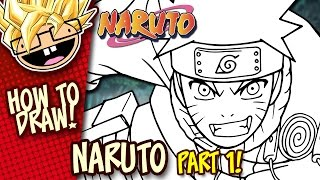How to Draw NARUTO (Naruto) | PART 1 | Easy Step-by-Step Drawing Tutorial | Anime Thursdays