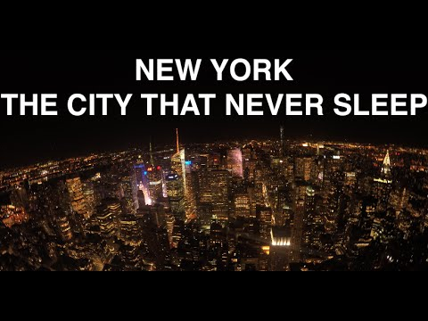 New york the city that never sleeps youtube for New york new york on the town