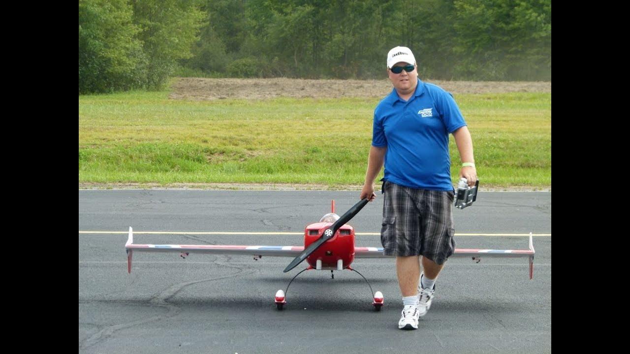 Joe Smith flying a 103 Extra gas at Knight Hawks Club