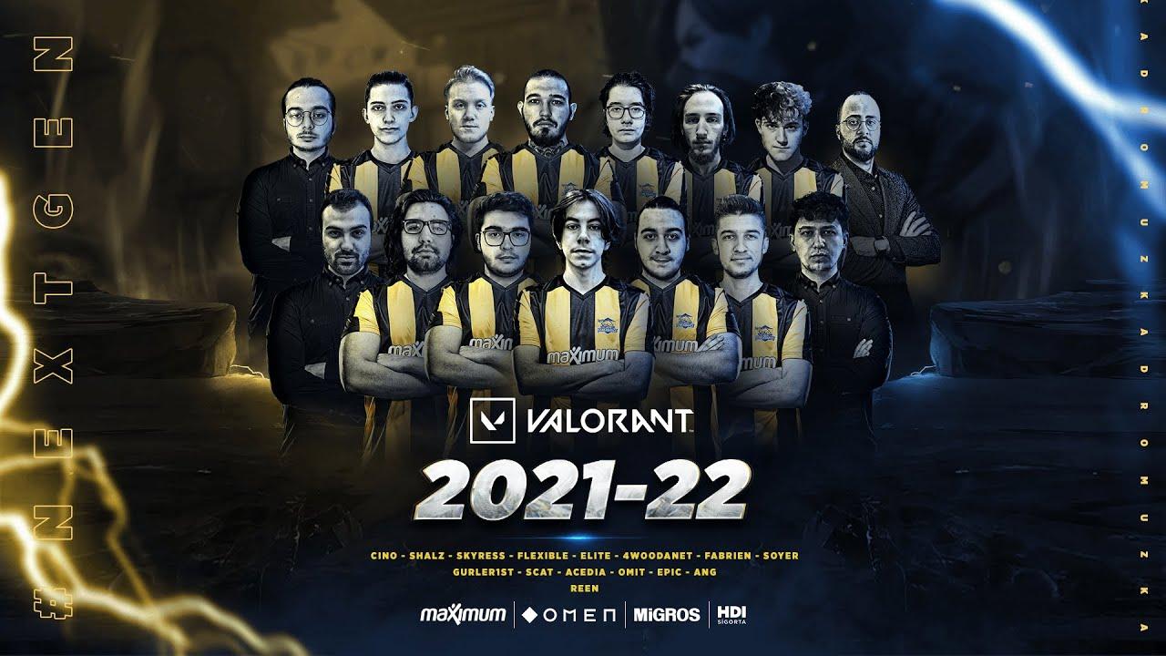 Geleceğin Yetenekleri Fenerbahçe'de! 💛💙   VALORANT 2021-22 Kadro Duyurusu
