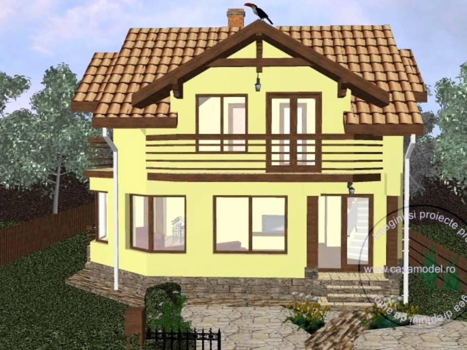 Proiecte case proiect casa mondeo modele case youtube for Modele case