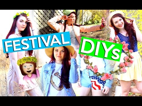 DIY Festival Accessories! + OUTFIT IDEAS
