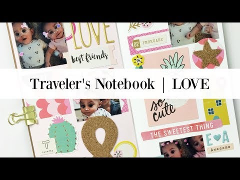 Traveler's Notebook Process | Ashley Laura | Hip Kit Club