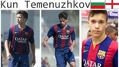 Kun Temenuzhkov | Goals + Skills | Bulgaria U16 + Barcelona (Кун Теменужков  голове и умения)
