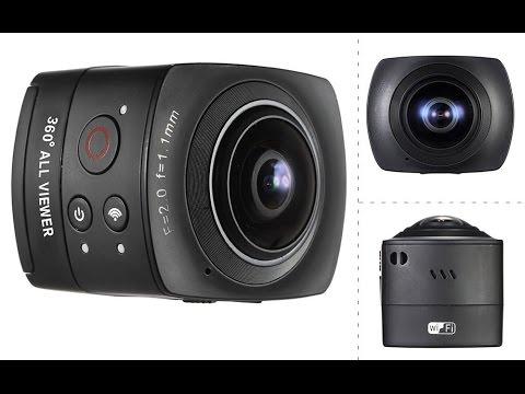 Andoer Panorama 360° VR Full HD Action Camera