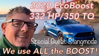 We Drive It! 2020 EcoBoost Mustang REVIEW - 332 HP High Performance Package