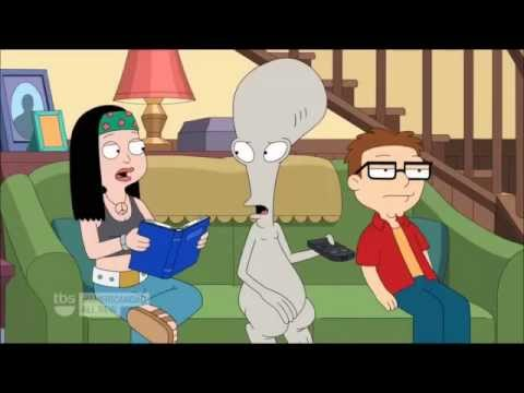(american dad) roger reacts to his show being deleted from the DVR
