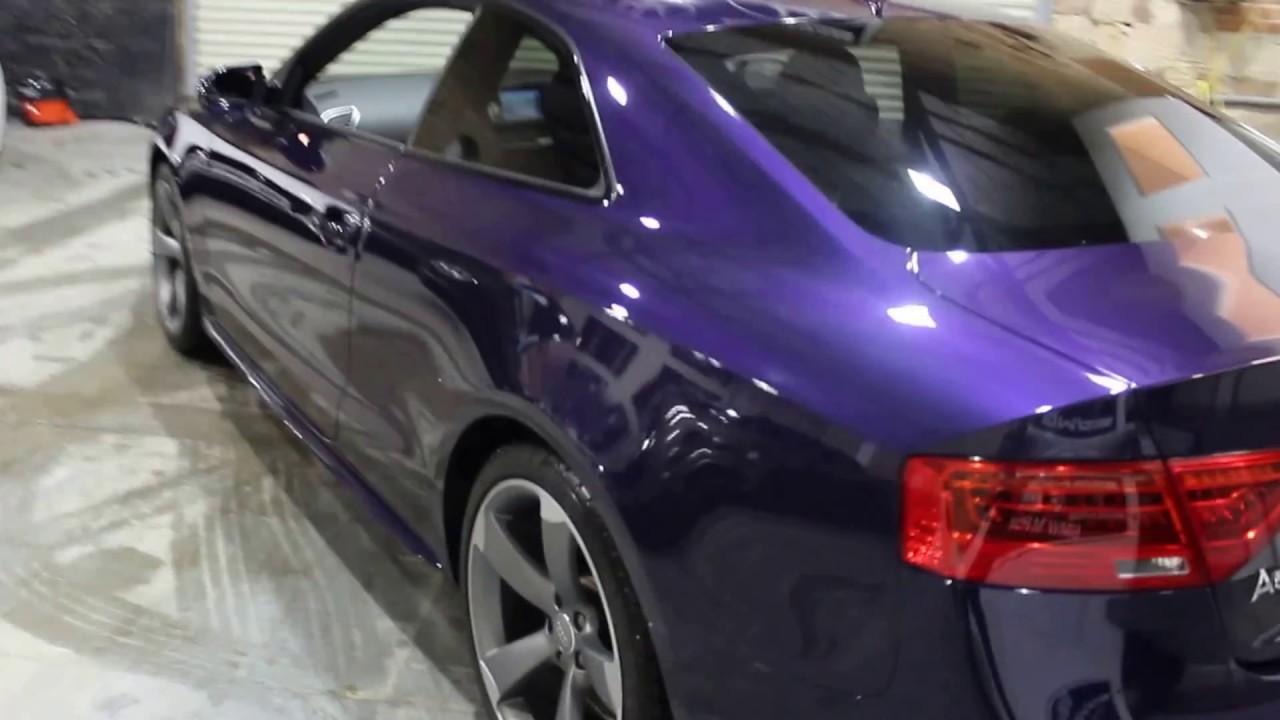 Unique Velvet Purple A5 Black Edition 2014 Youtube
