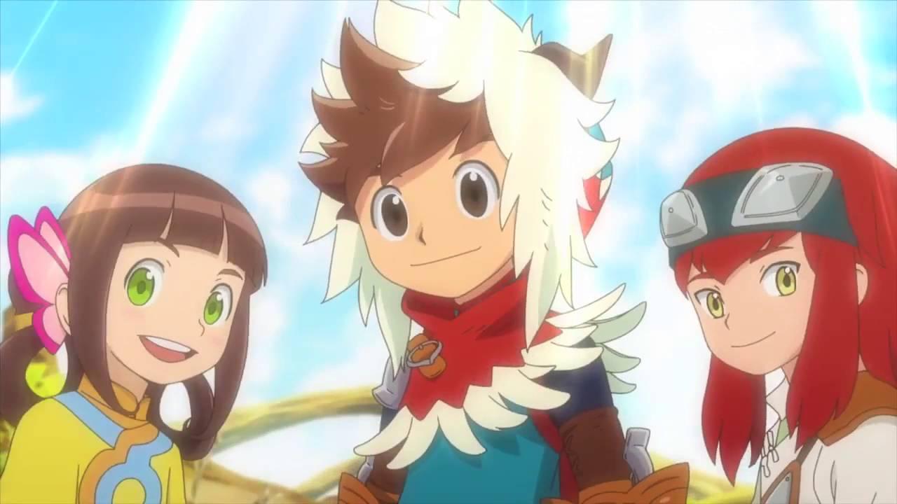 Mhs Monster Hunter Stories Ride On Anime New Trailer 2 Youtube