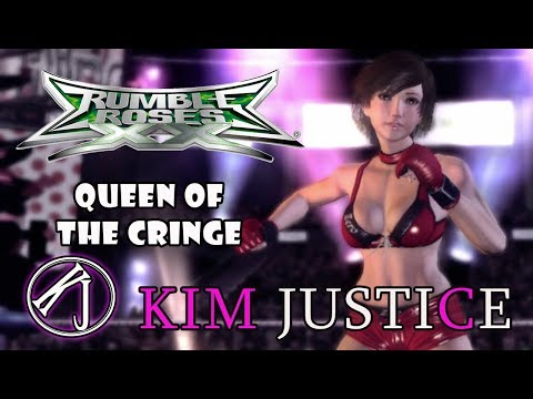 Rumble Roses XX Review (360) - Queen of the Cringe (WRESTLING GONE WRONG GONE SEXUAL) - Kim Justice