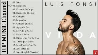 Luis Fonsi - VIDA Full Album 2019 - Las mejores canciones de Luis Fonsi