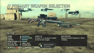 Ghost Recon Future Soldier: My Scout Class Setup