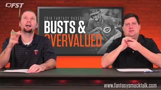 2018 Fantasy Baseball Busts and Overvalued Players