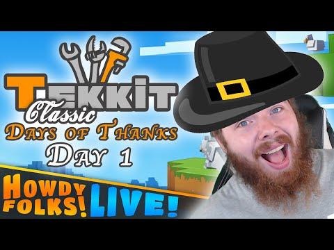 Starting Fresh || Tekkit Classic || Days of Thanks - Day 1