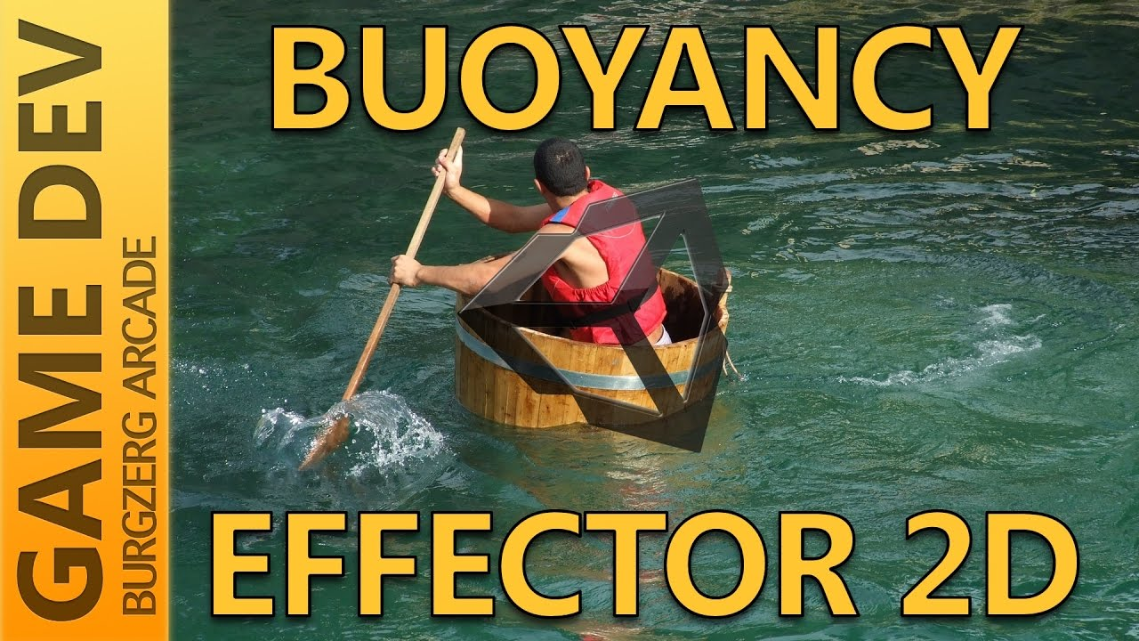 Buoyancy Effector 2D - 2D Game Development With Unity