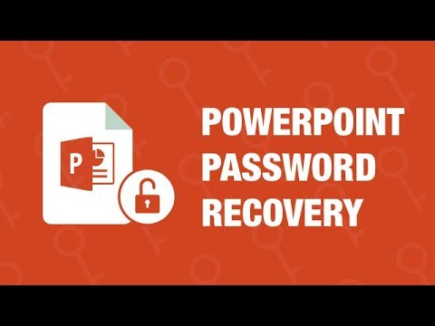 PowerPoint Password Recovery - How To Recover/Retrieve/Unlock/Bypass/Find PPT Password