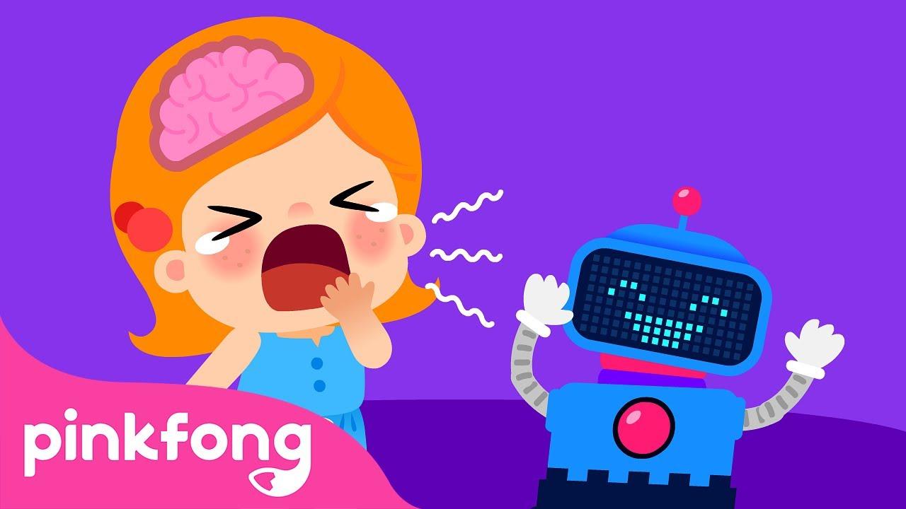 Por que? - Som | Canções do Corpo Humano | Pinkfong Canções para Crianças