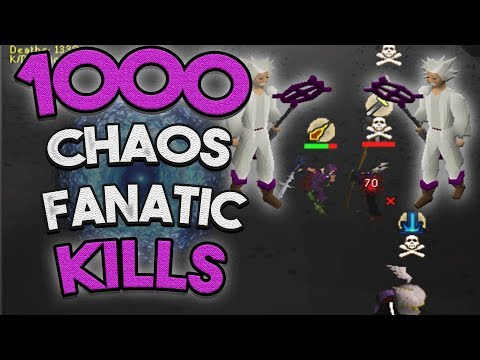 Loot From 1,000 Chaos Fanatic