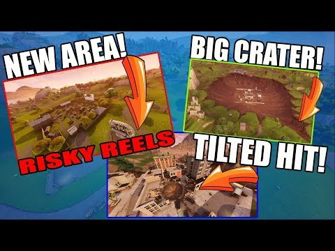 FORTNITE NEW MAP! NEW LOCATIONS, METEOR HITS! (Fortnite Battle Royale)