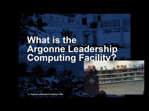 Science & Computer Science in the Argonne Leadership Computer Facility