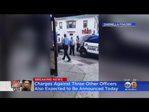 Murder Charge Upgraded For Officer Who Knelt On George Floyd's Neck; 3 Other Officers Charged