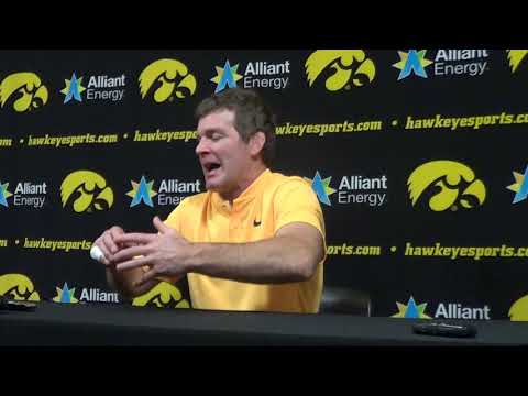 Iowa's Tom Brands after Rider