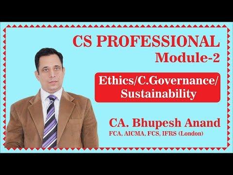 CS professional lectures- Corporate governance introduction-1