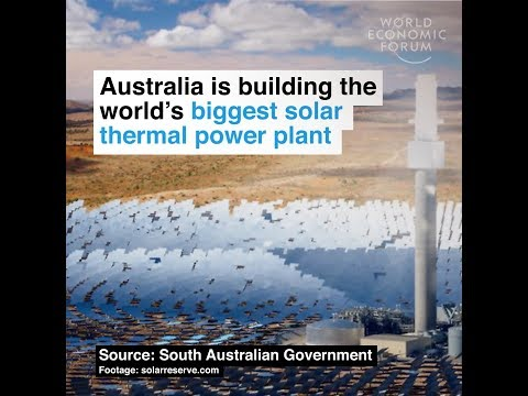 Australia is building the world's biggest solar thermal power plant