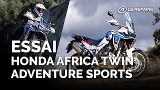Essai Honda Africa Twin Adventure Sports - Modèle 2018