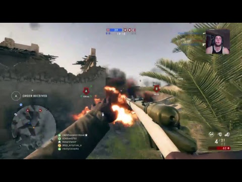 Bf1 aggressive sniping/attack plane ( Ranked top 20 USA scou