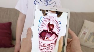 Smart educational app gives window to the body