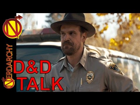 Nerdarchy Live Chat 29- David Harbour For a DD Talk