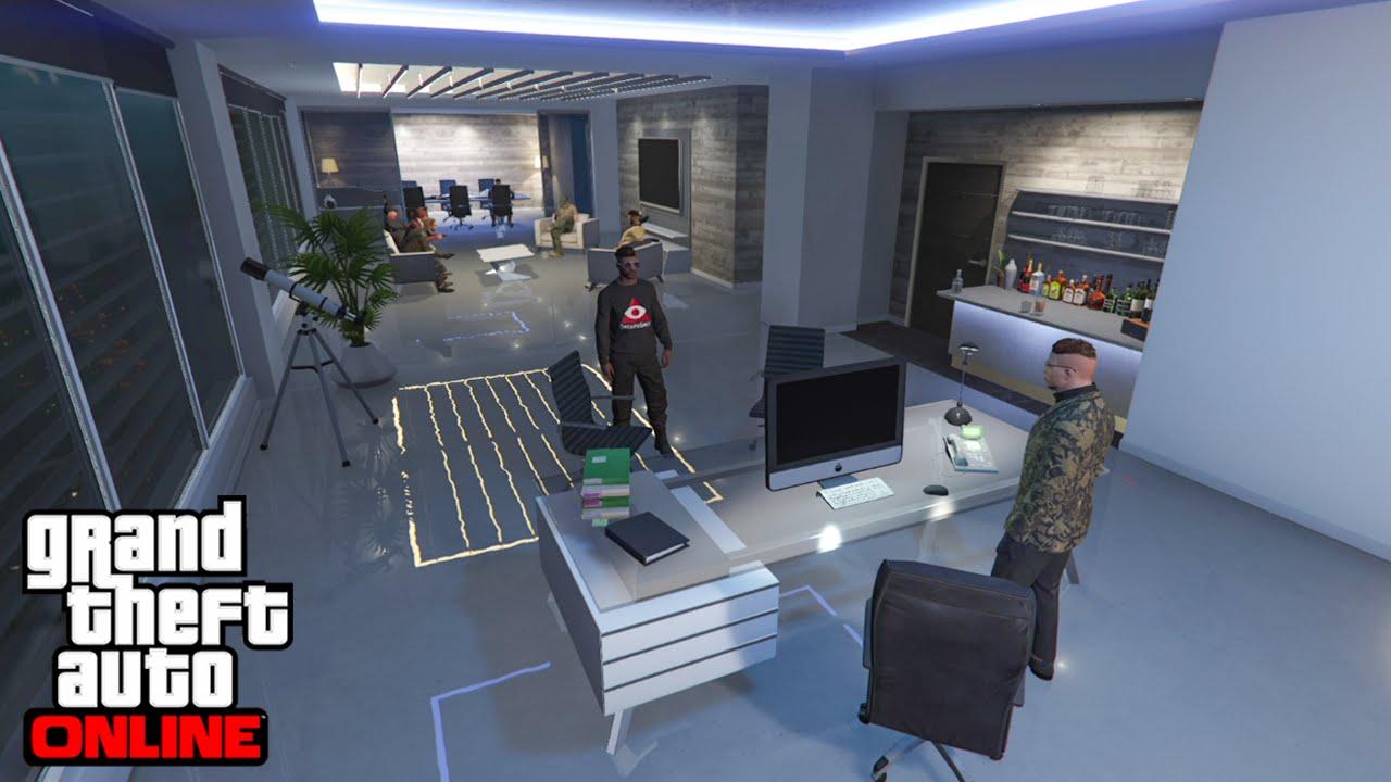 DÉCOUVERTE QG MAZE BANK (+6.600.000$) GTA 5 ONLINE - YouTube
