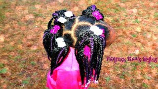 Easy Crochet Hairstyle | Children's Natural Hair Care