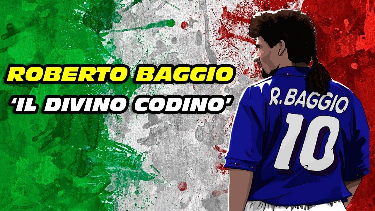 Roberto BAGGIO 🇮🇹⚽ 'Il Divino Codino'