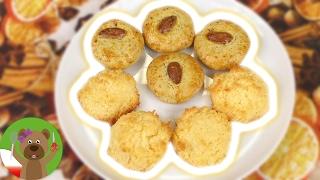Pieczenie świątecznych ciastek | makaroniki kokosowe i placuszki marcepanowe | prosty przepis