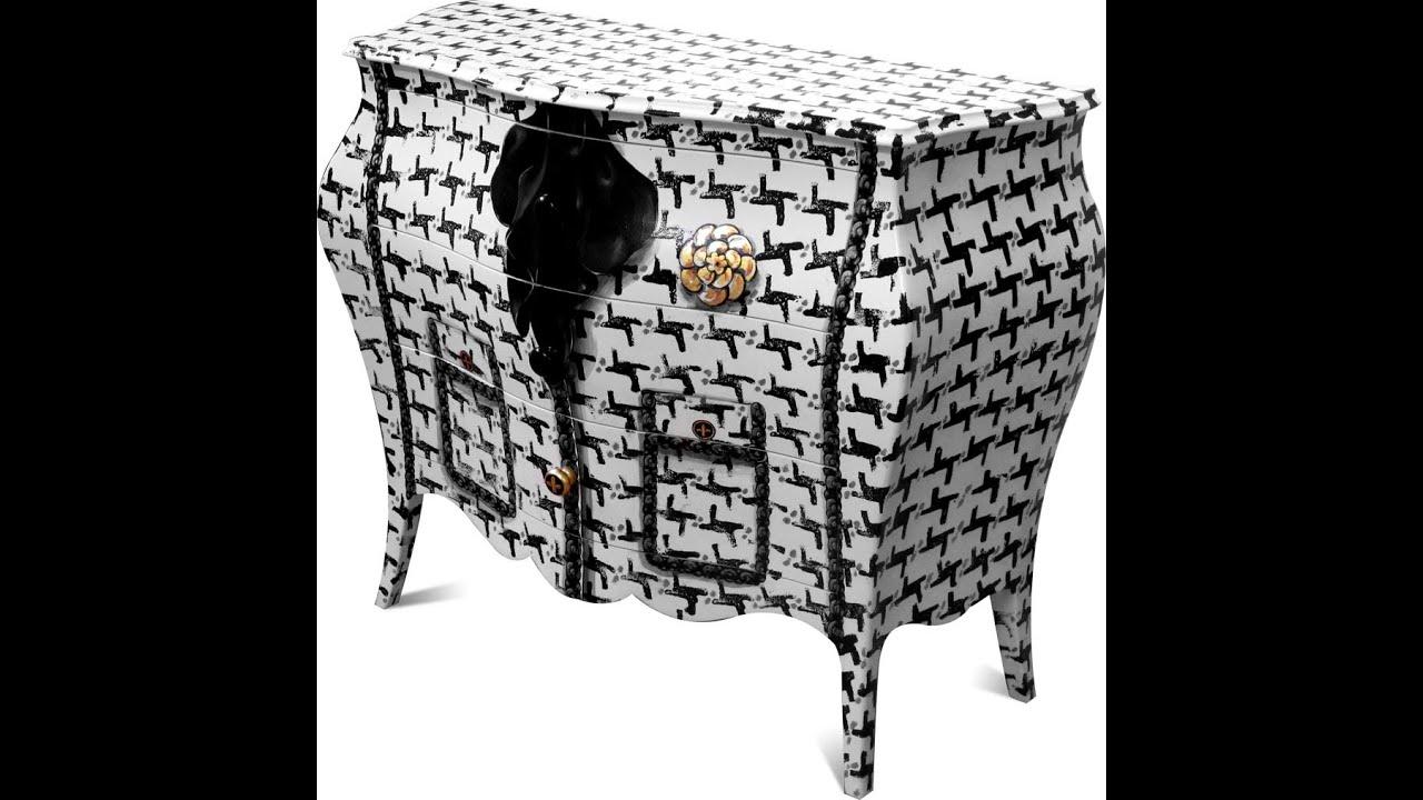 Asambienti muebles decoracion italian furniture design for Mobili dipinti di design