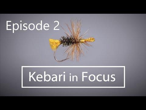 Tying Tenkara Flies with Kebari in Focus Episode 2: AKIYAMAGO KEBARI