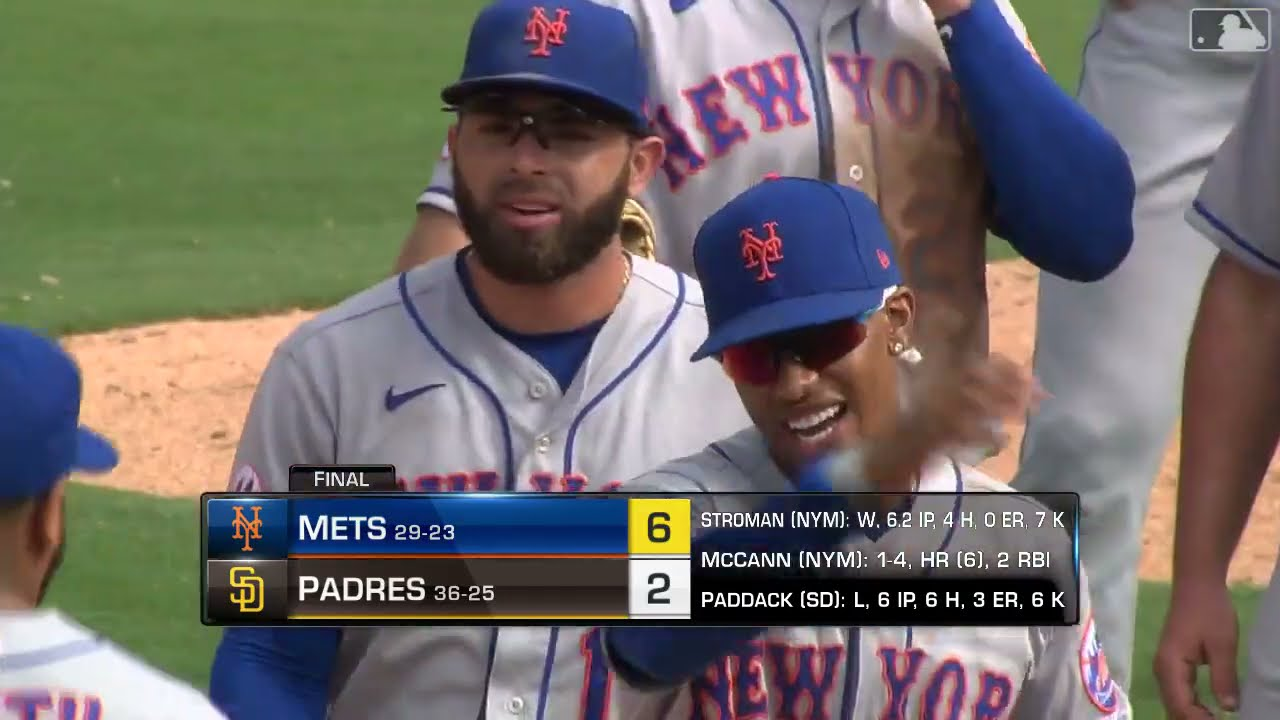 Jacob deGrom dazzles again but leaves Mets game vs. Padres with ...
