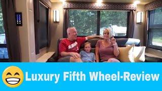 Baixar Luxe Elite Luxury Fifth Wheel 42MD - Customer Interview
