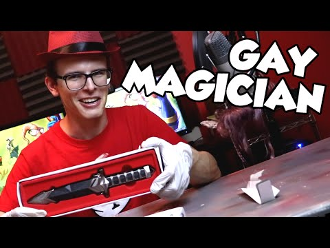 Gay Magician Hates Fan Mail  - Bad Unboxing
